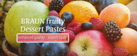 Dessert Pastes - enhanced quality superb taste